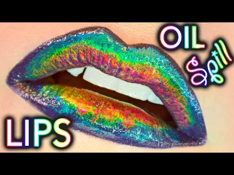 Oil Spill Lip Tutorial by SimplyFaceLogical
