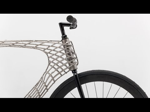 Arc Bicycle Has 3d Printed Steel Frame Created By Tu Delft And