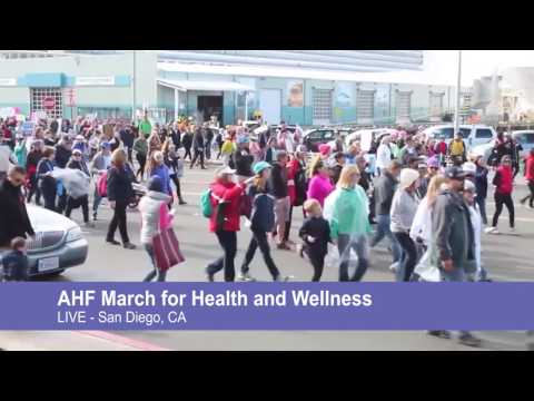 AHF March for Health and Wellness