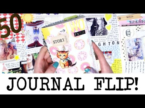 Finished Creative Journal Flip Through! 'TWO' | MyGreenCow