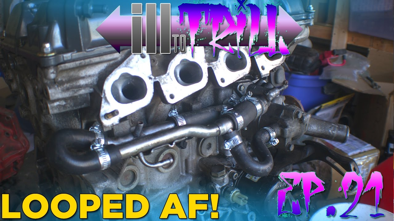medium resolution of ill to trill ep 21 heater core delete sr20 drift car build