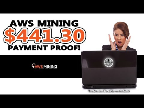 $441.30 In Less Than 3 Minutes! - AWS Mining How To Withdraw BitCoin (PROOF)