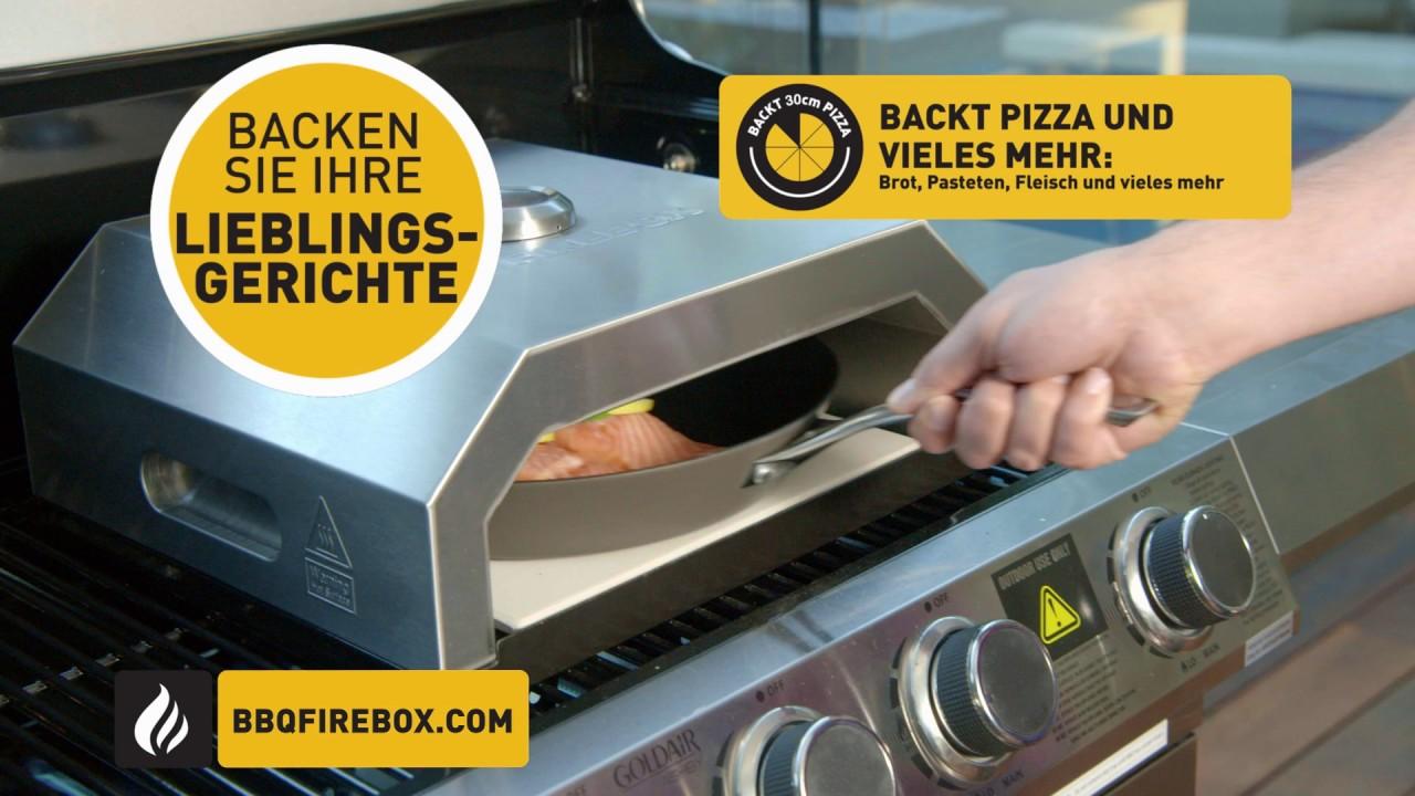 Pizzaeinsatz Buschbeck Firebox Youtube