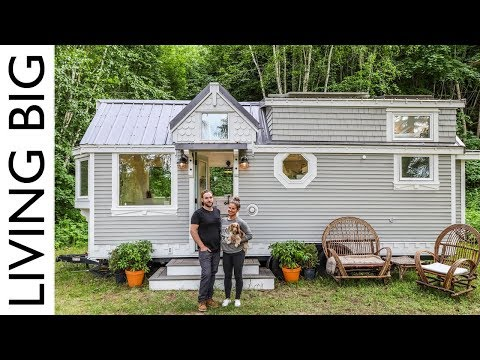 Couple Downsize Into Dream OffTheGrid Tiny House
