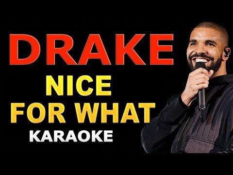 Drake - Nice For What LYRICS Karaoke