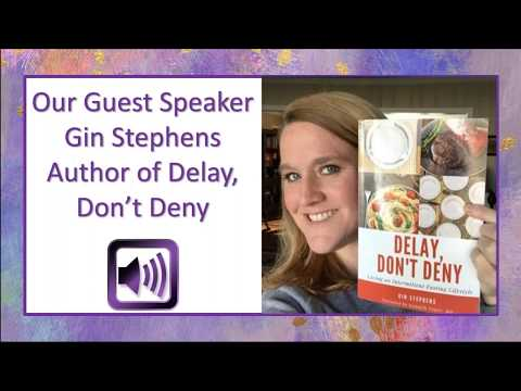 Intermittent Fasting Interview with Gin Stephens and Dvorah Lansky Mp3