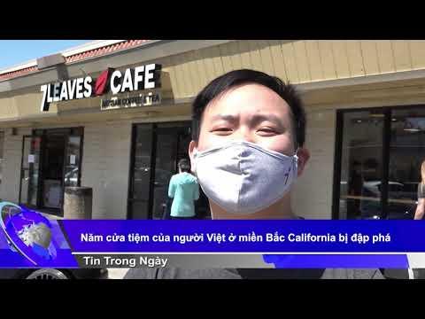 Năm cửa tiệm của người Việt ở miền Bắc California bị đập phá