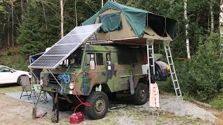 Volvo C303 TGB 11 Camper, Overland vehicle, Hillbilly Hunting vehicle