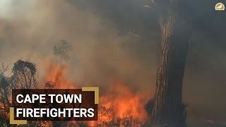 Fire continue to blaze in Cape Town