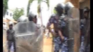 La gendarmerie togolaise a violé l'espace en délogeant des Togolais épris de justice