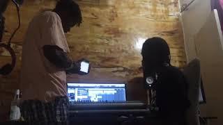 kelk chose se prépare 🔥un feat de ouff 🔥🔥🔥en studio #wOrdcharp_music_inc #