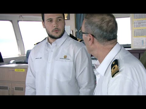 This Third Officer Docks His First MSC Oscar In Harsh Conditions