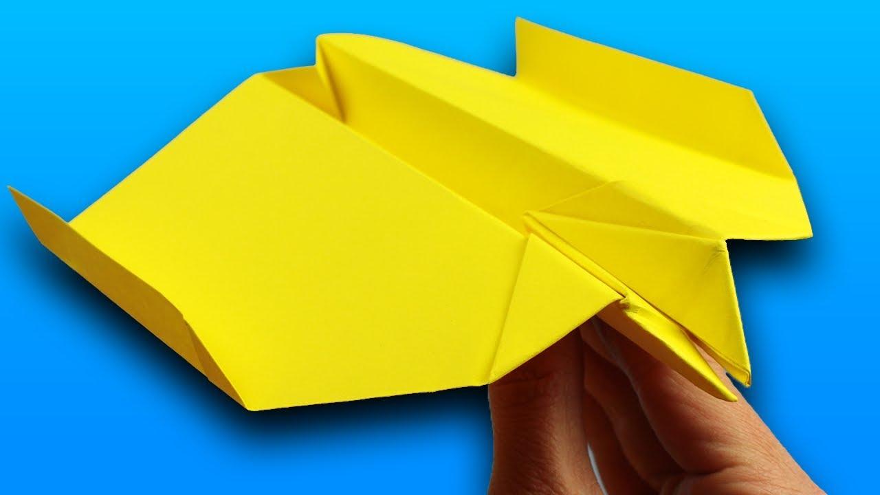 papierflieger falten flieger selber basteln papierflieger einfach bauen beste schwalbe