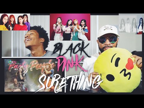 BLACKPINK - 'SURE THING (Miguel)' COVER 0812 SBS PARTY PEOPLE |FVO Reaction