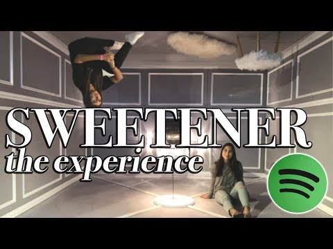 SPOTIFY SWEETENER THE EXPERIENCE VLOG (NYC)