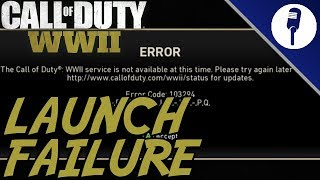 Call of Duty WWII Failure To Launch: Server Errors & Beta Changes Not In Game!!