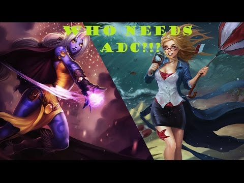 How the hack to counter Soraka bot lane? - League of Legends