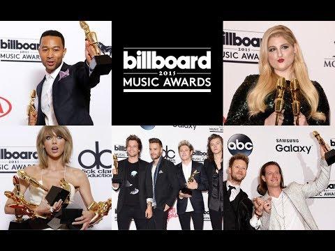 Billboard Music Awards 2015 Nominees & Winners