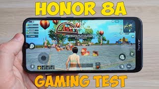 HONOR 8A GAMING TEST (HELIO P35) - ИГРОВОЙ ТЕСТ!