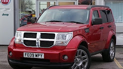 2009 09 Dodge Nitro 2.8 CRD SXt 5dr Auto In Red