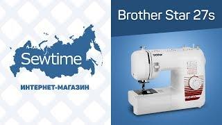 Огляд швейної машини Brother Star 17, 25, 27S, 37S