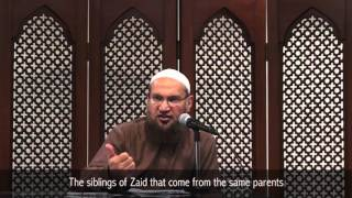Foster Siblings in Islam - Dr Idrees Zubair