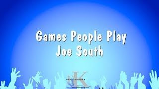 Games People Play - Joe South (Karaoke Version)