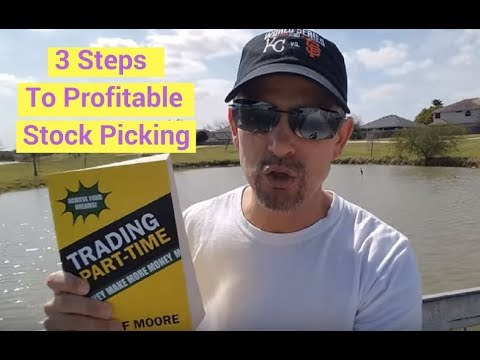 3 Steps To Profitable Stock Picking! Stock Trading Information You Need To Know