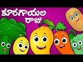 Koorakayala Raju  Vegetable Stories   King Of Vegetables  Moral Stories For Children