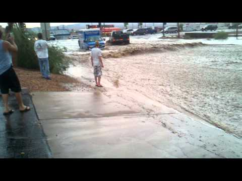 Flash Flood in Lake Havasu City, AZ #2
