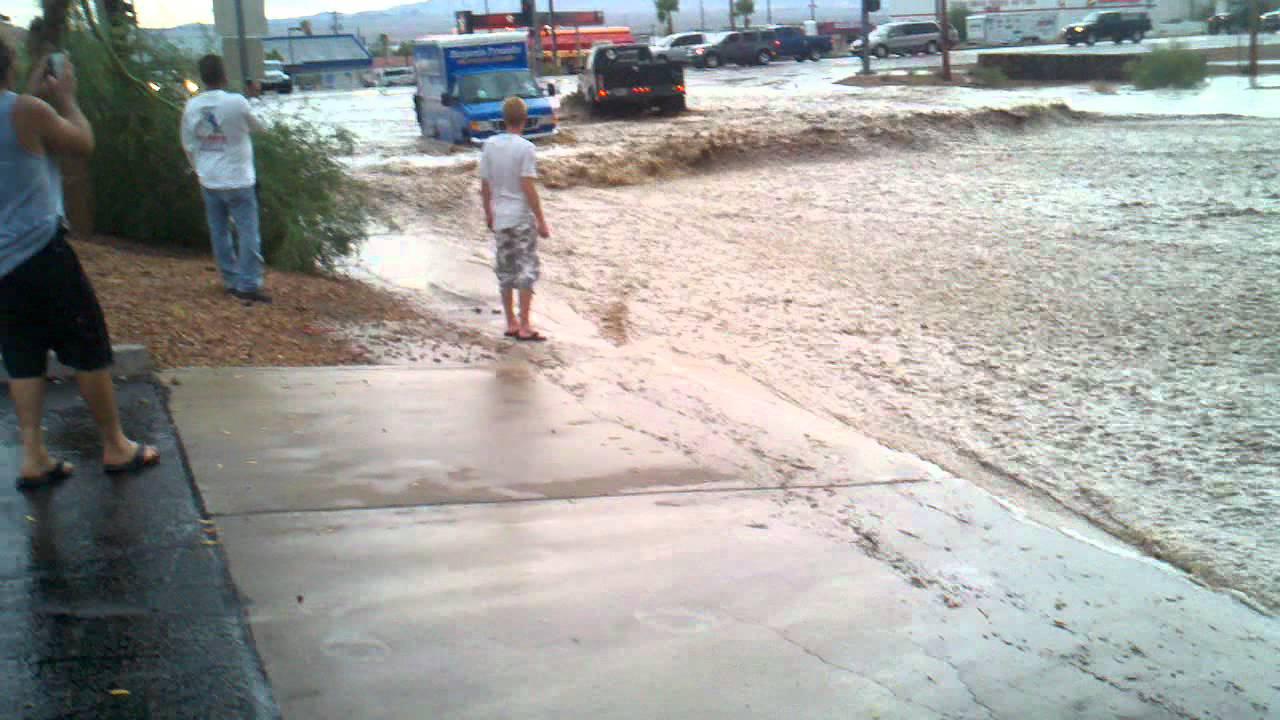 Lake Havasu City Az >> Flash Flood in Lake Havasu City, AZ #2 - YouTube