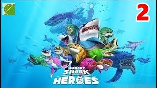 Hungry Shark Heroes - Android Gameplay FHD Part 2