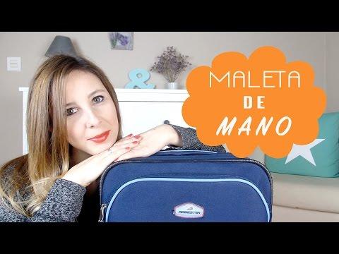 ¿Cómo hacer una maleta de mano correctamente?