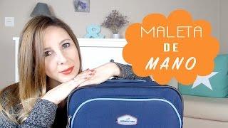 TIPS I Como hacer una maleta de mano I