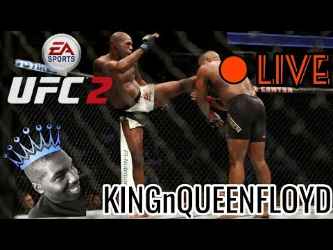 UFC 2 102 ONLINE IM ON THE MIC!!! PUT YOUR PSN IN THE COMMENTS TO PLAY THE KING
