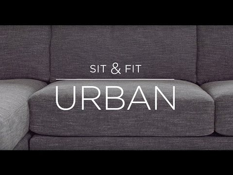 Sit & Fit: Urban 2-Piece Chaise Sectional