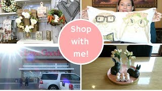Shop with Me! Spring Decor Haul