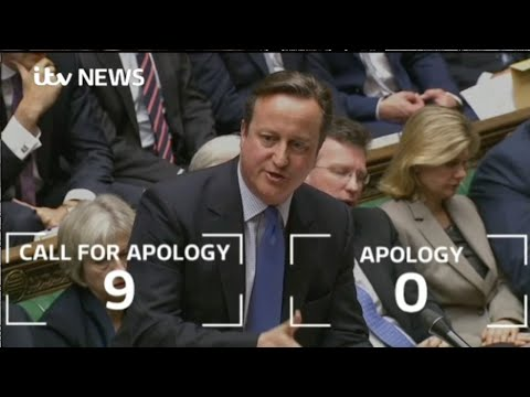 Prime Minister David Cameron Slanders the Nation at a Stroke - No Apology!