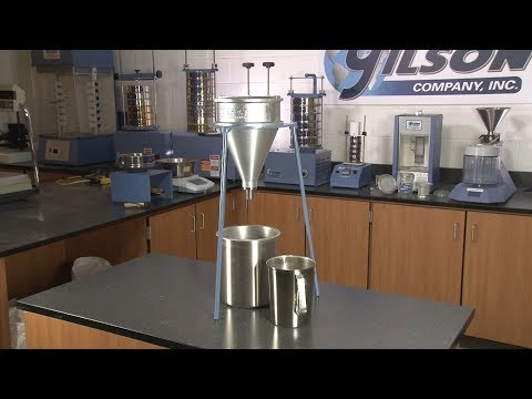 Grout Testing: Gilson Grout Flow Cone Sets (HM-372)