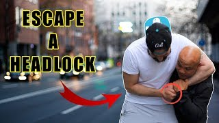 How to Escape a Headlock in the Street Fight