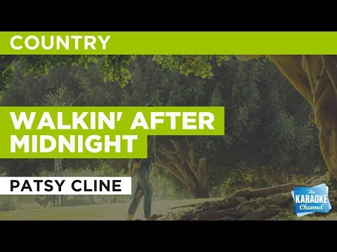 Walkin' After Midnight in the style of Patsy Cline | Karaoke with Lyrics