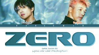 "SUPER JUNIOR D&E (슈퍼주니어) D&E - ""ZERO"" LYRI…"