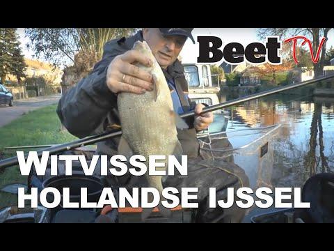 Jan van Schendel witvis succes op de Hollandsche IJssel