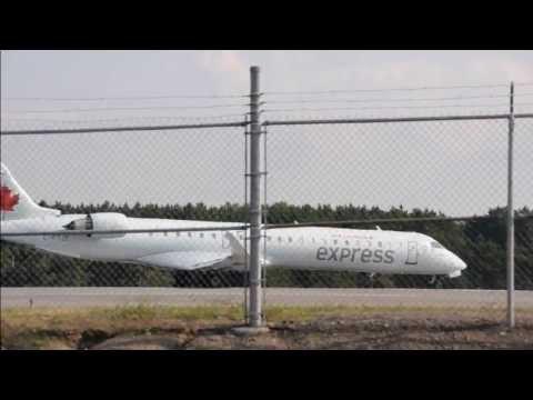 "Express Takeoff From ""Ottawa Airport"" YOW 8/20/13 Columbia Photos"