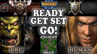 Grubby | Warcraft 3 The Frozen Throne | 1.26 | ORC v HU - Ready, Get Set, GO! - Ancient Isles