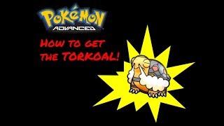 How to get TORKOAL in ROBLOX POKEMON ADVANCED