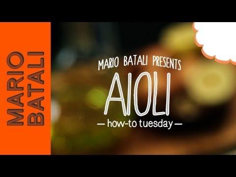 How to Make Aioli