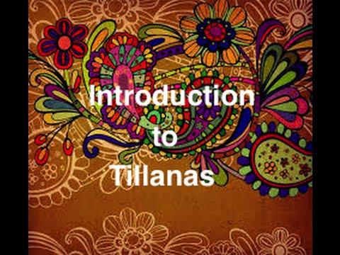 Carnatic Music Lesson: Introduction to Tillanas- Guru: Chitravina N Ravikiran