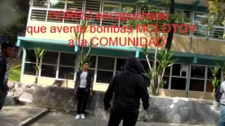 porros cch naucalpan bombas molotv 23 10 2015