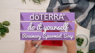 DIY Soap using Essential Oils
